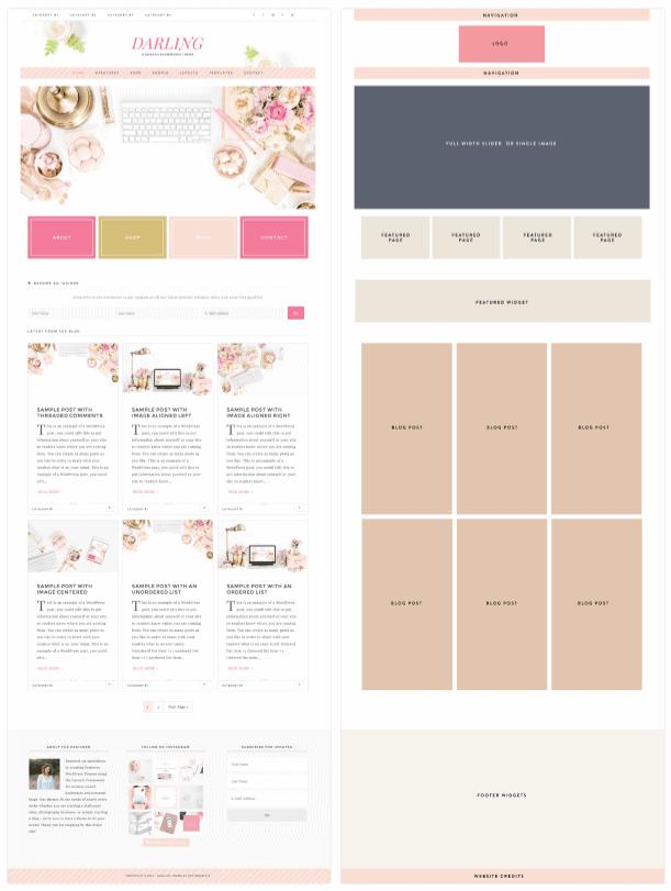 Wordpress-Theme-Restored316-Darling-Theme-layout