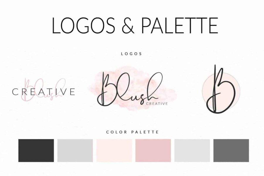 Blush Web Branding Kit