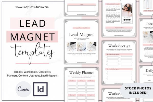 Blush Lead Magnet Templates