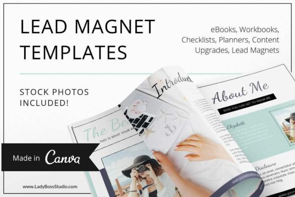 Turquoise Lead Magnet and Freebie Templates