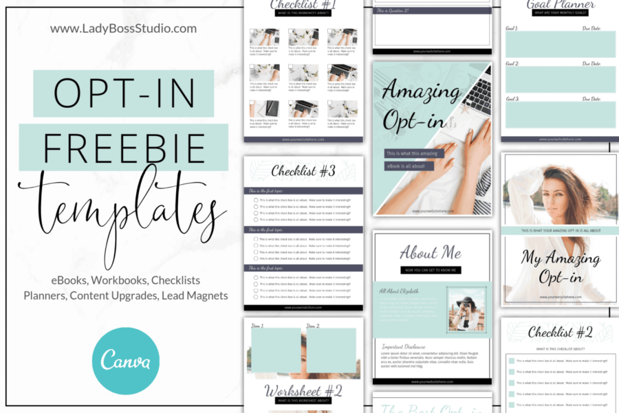 Turquoise Opt-in Freebie