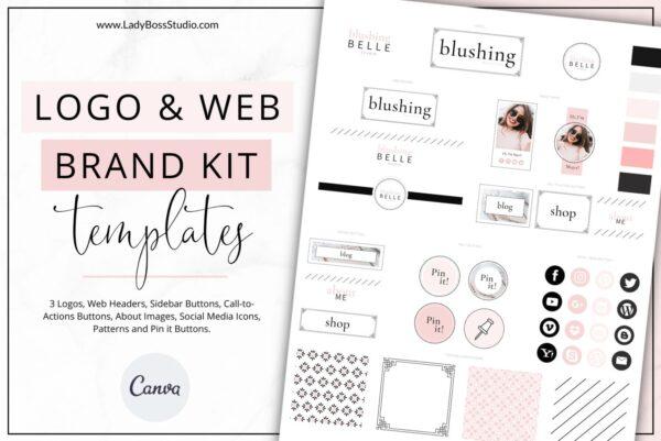 Blush Website Branding Kit