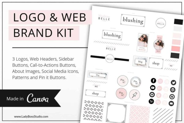 Shop Branding Kit Templates