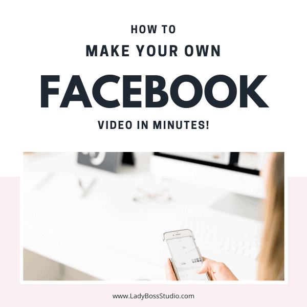 How to make your own facebook video in minutes