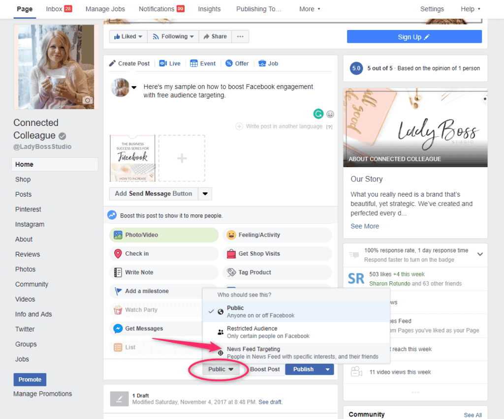 Increase your Facebook Post Engagement 4