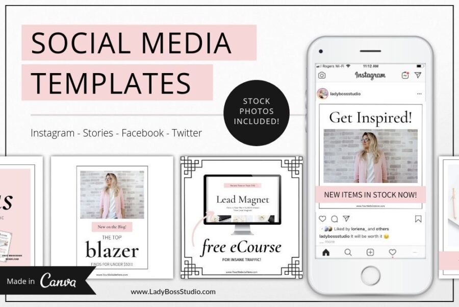 Blush Social Media and Pinterest Templates (2)