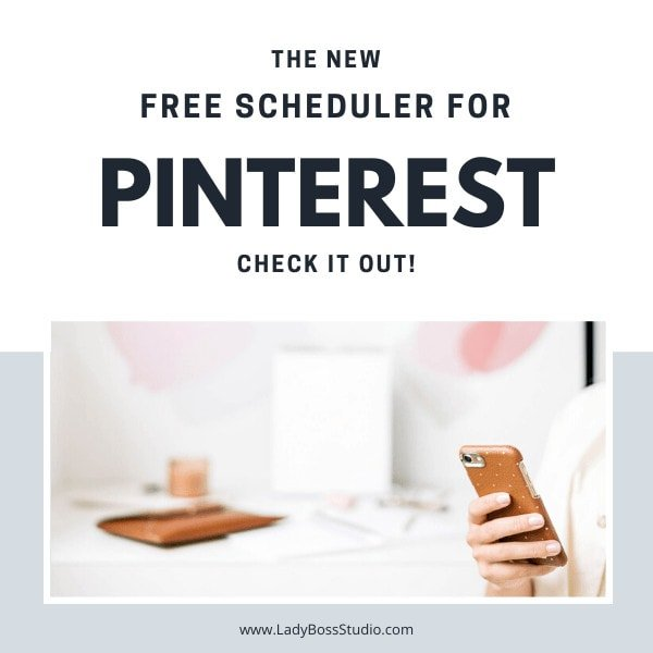 Pinterest Launches it's new free Pinterest Scheduler