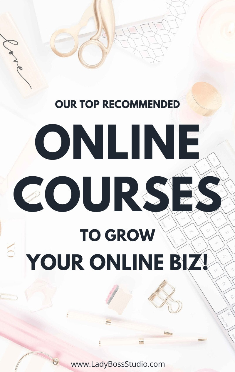 p Your Game with these 6 free blogging and online business course that you can start right now! We also give your the best Pro Social Media Courses, Email Marketing, Pinterest Courses and much more! We have the best list of online courses for bloggers and webpreneurs. Check them out now! #onlinecourses #freebie #freecourses #bloggingcourses