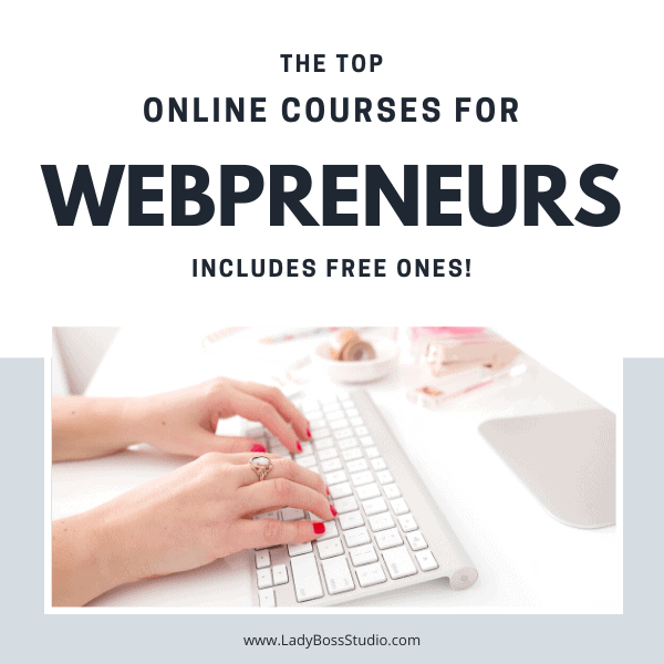 The top online courses for entrepreneurs and bloggers