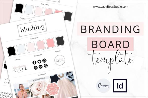 Blush Branding Board Feature Image