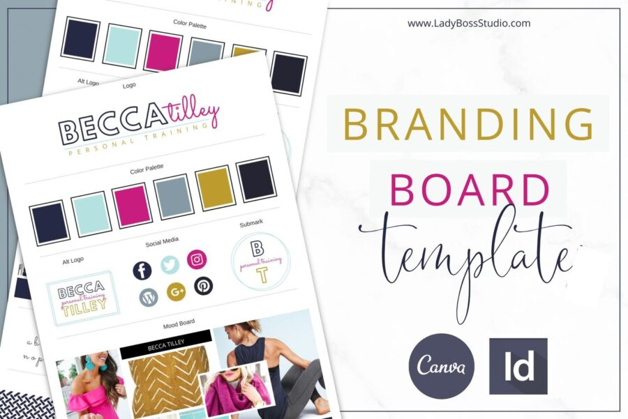 Bold Branding Board Template (1)