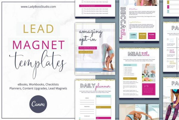 Bold Lead Magnet Templates