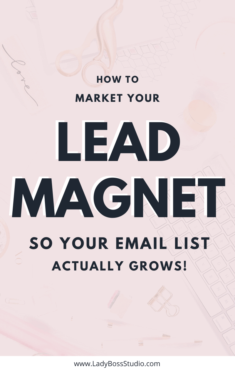 How to Market your Lead Magnet to get insane web traffic! Grow your email list on auto-pilot with awesome Lead Magnet Freebies! Don't let your hard work go to waste! We cover the important places that you need to market your lead magnet - plus a secret bonus! Are you making the most out of your Opt-In Freebie? Find out now! #LeadMagnet #EmailList #emailmarketing #listbuilding