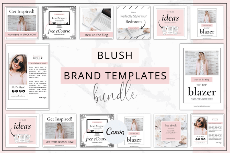Blush Branding Bundle