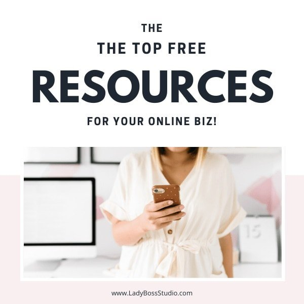 The Top Free Resources for your online blog or business