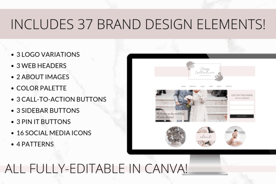 Classy Web Branding Kit