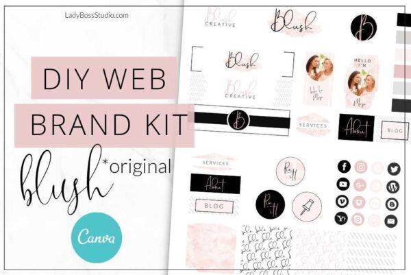 Blush Website Branding Kit Original