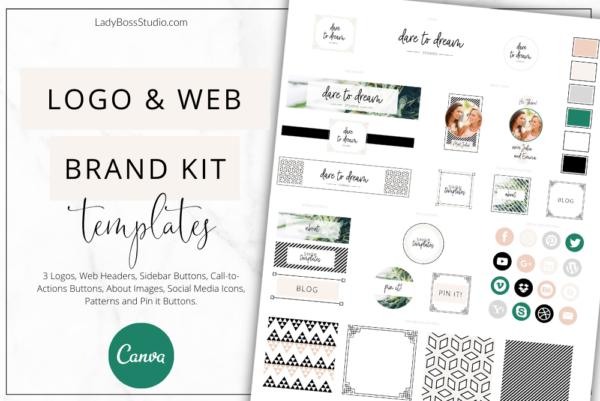 Fresh Website Branding Kit Feature Image