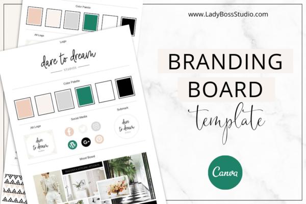 Fresh Branding Board Feature Image