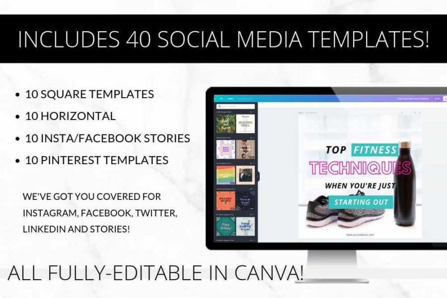 Bold Social Media Templates