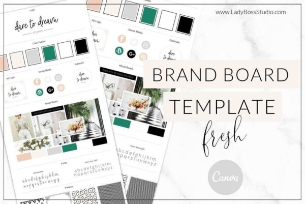 Fresh Collection Brand Board 1