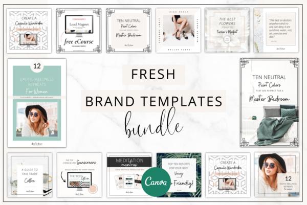 Fresh Branding Bundle Feature Image