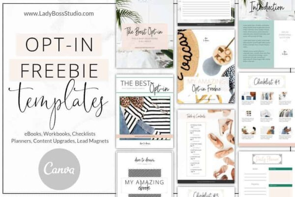Fresh Opt-in Freebie Templates