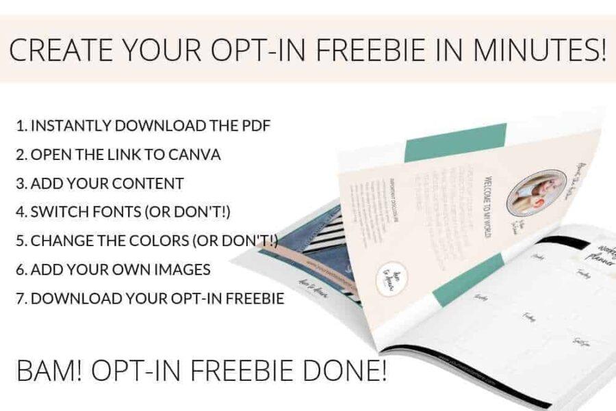 Fresh Opt-in Freebie Templates