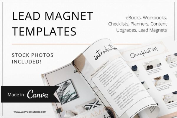 Fresh Lead Magnet & Freebie Templates