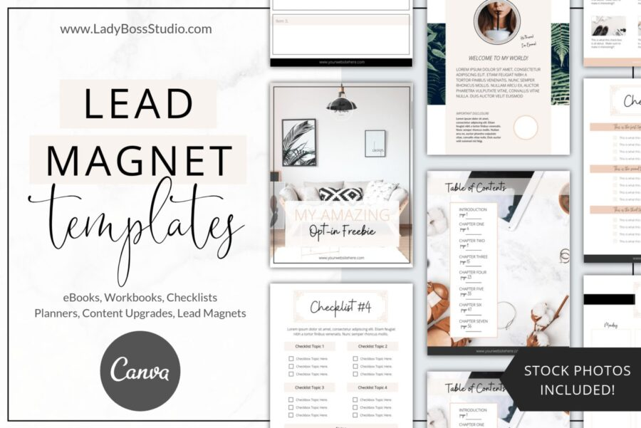 Fresh Lead Magnet Templates