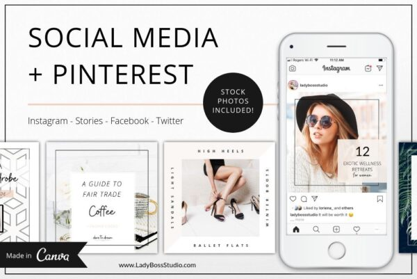 Fresh Social Media & Pinterest Templates (1)