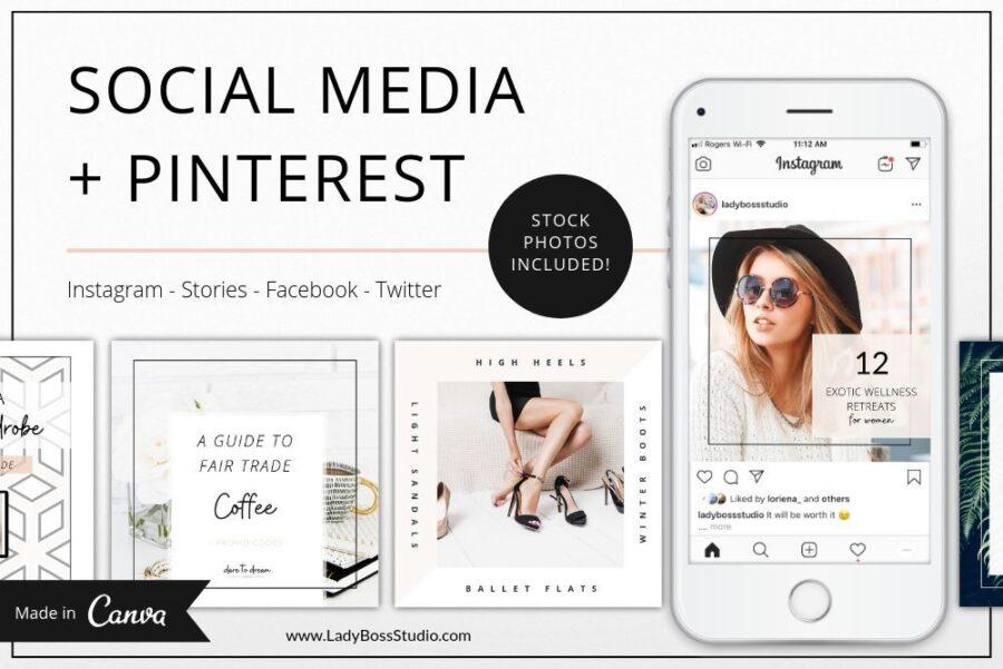 Fresh Social Media & Pinterest Templates (1)
