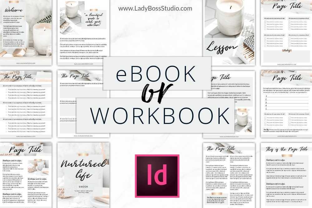 Nurtured Life Ebook Templates Indesign