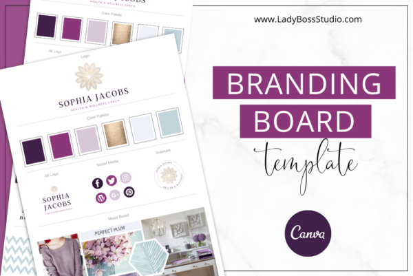 Plum Branding Board Feature Image