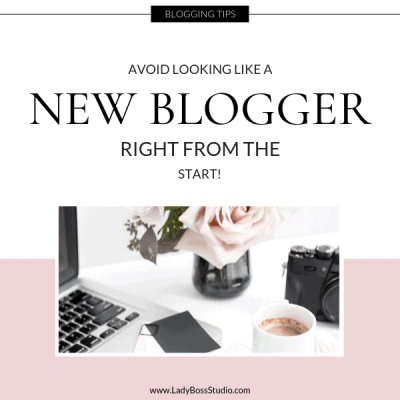 How to Avoid Looking like a new blogger