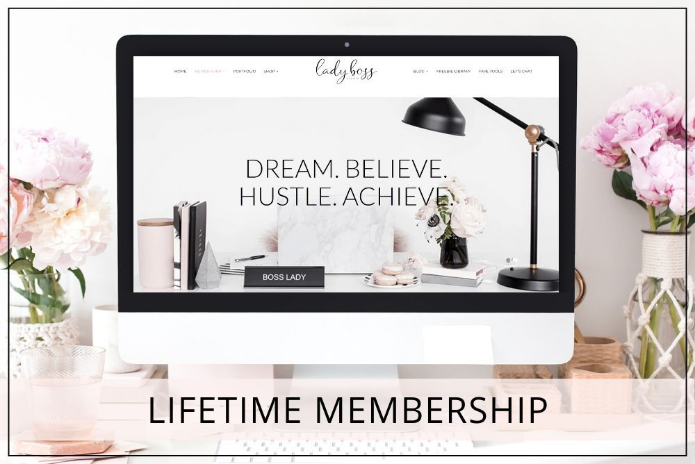 Lady Boss Studio Lifetime Membership