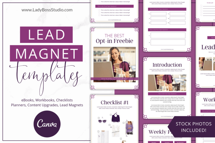 Perfect Plum Lead Magnet Templates