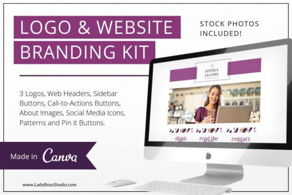 Plum Branding Kit Template