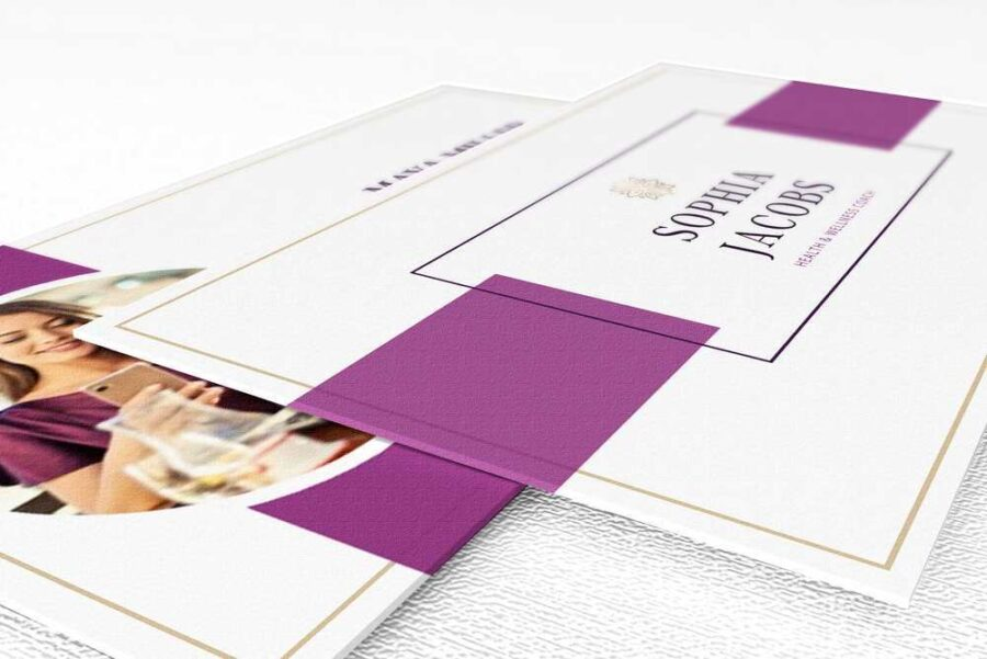 Plum Branding Kit Template