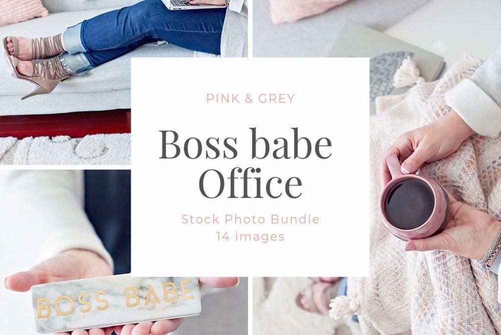 Monthly Stock Photo Bundle - Boss Base Office