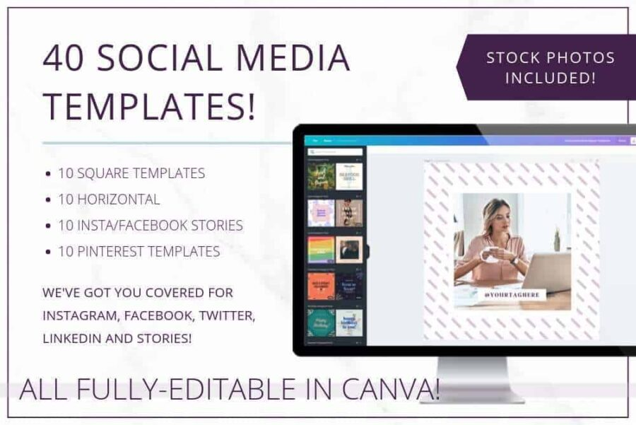 Plum Social Media Templates