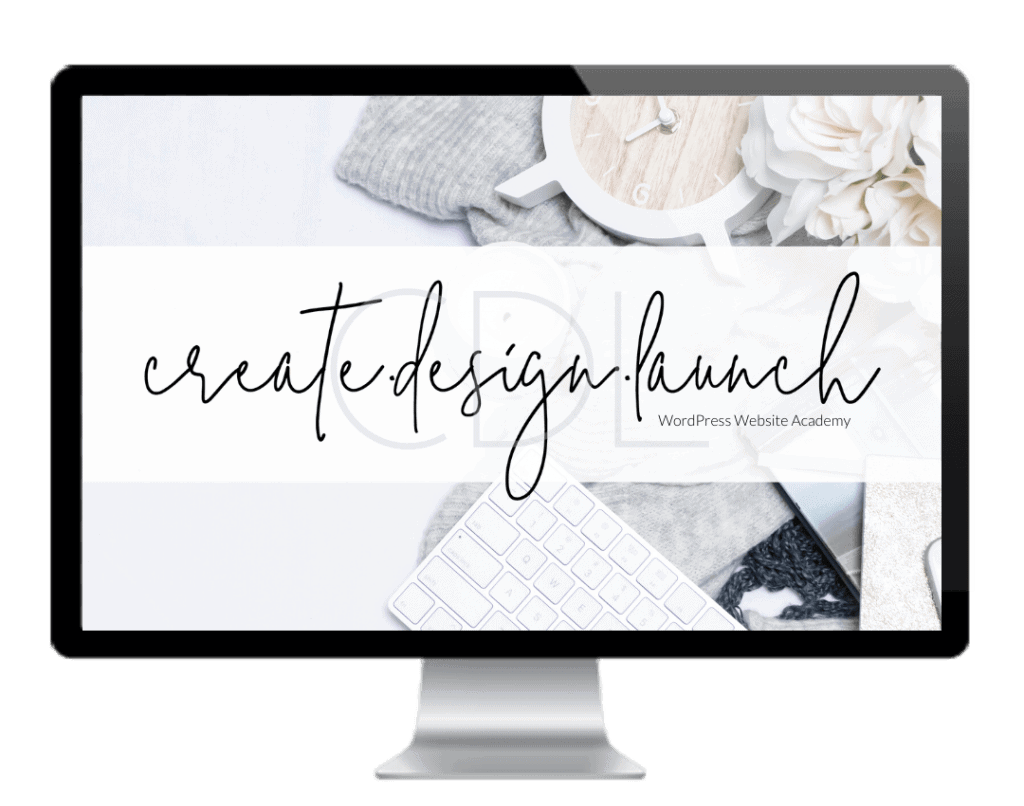 Create Design Launch WordPress Website Academy