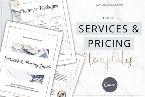 Modern Gold Services and Pricing Guide