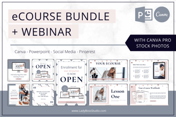 Rose Gold eCourse Bundle