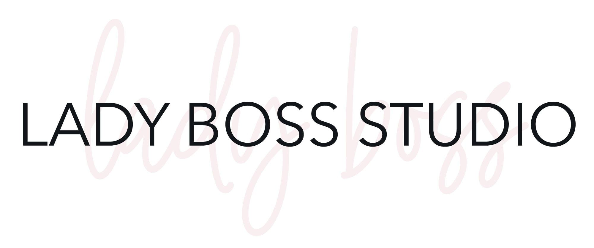 Lady Boss Studio Logo