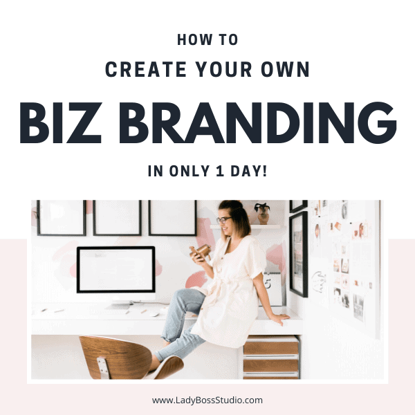 How to create your own business branding in one day