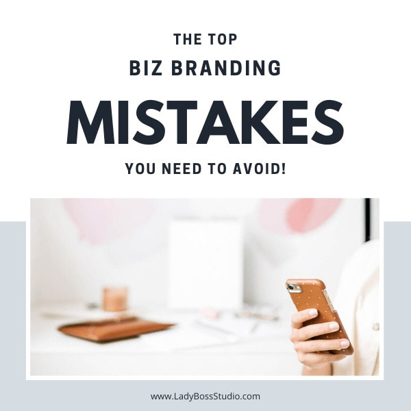 The top business branding mistakes to avoid