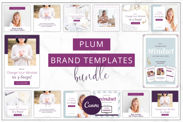 Plum Branding Bundle Feature Image