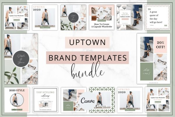 Uptown Branding Bundle Template