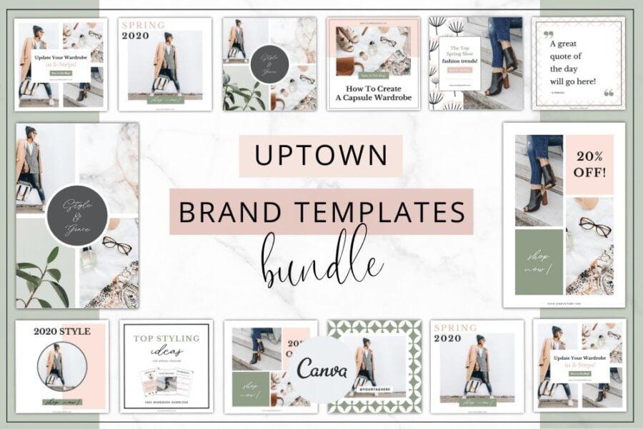 Uptown Branding Bundle Template